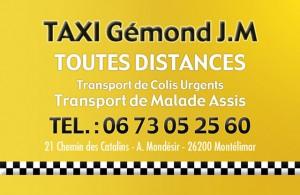 Taxi Gemond Montélimar