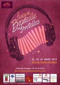 """Festival 2013 """"Bouteille en Bretelles"""" Bourg-Saint Andéol"""