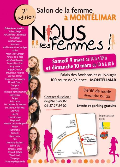 Montelimar : Salon Nous les femmes