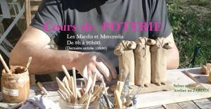 Cours de poterie - Montelimar