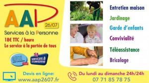 AAP2607 Services a la personne